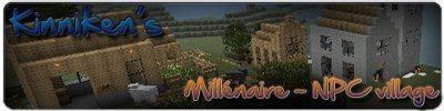 Millenaire Mod для майнкрафт 1.8.1 (деревни с жителями)