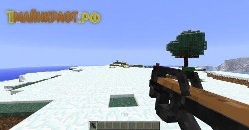 Огнестрельное оружие для minecraft 1.8.1