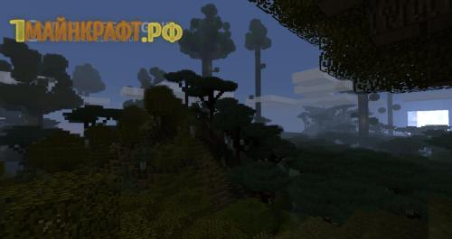 Сумеречный лес мод на майнкрафт 1.8.1 (The Twilight Forest)