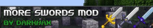 Мод на мечи для майнкрафт 1.6.2 (More Swords)