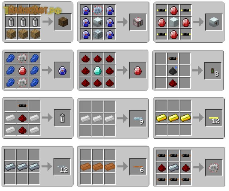 Industrial craft 2 (IC2) - индастриал крафт [1.12.2] [1.11 ...
