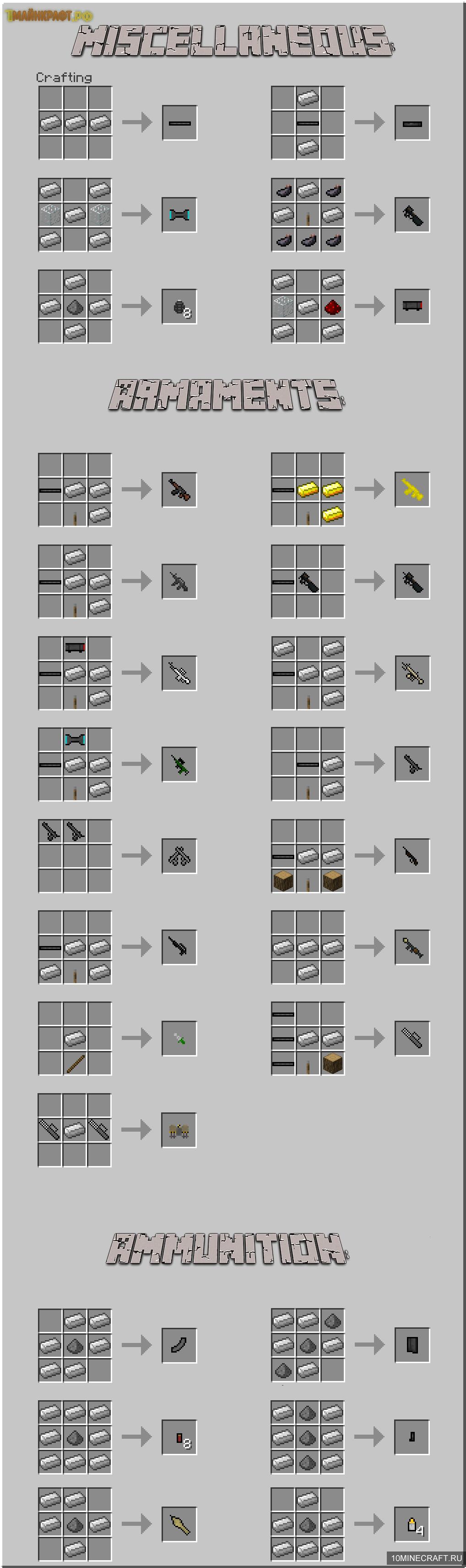 Моды для майнкрафт 1.8, моды minecraft