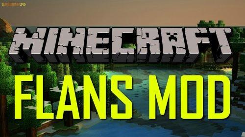 Flans mod minecraft 1.6.4 - мод на самолёты 1.6.4