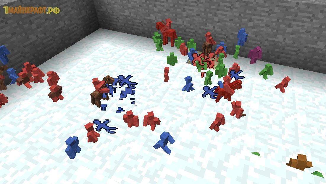 скачать мод clay soldiers mod для minecraft 1.7.10 бесплатно