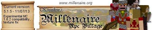 Millenaire для minecraft 1.8 (деревни с жителями)