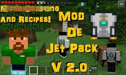 Jetpack Mod для майнкрафт пе 0.11