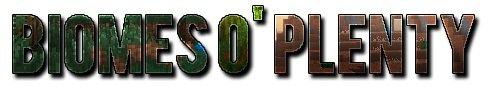 Мод на новые биомы для майнкрафт 1.8.8 - Biomes O Plenty