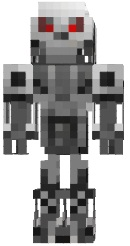 Скин робота для minecraft