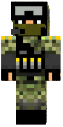 Скин Forest Soldier для майнкрафт - скин солдата