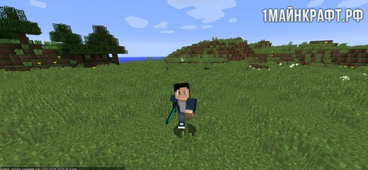 Моды на майнкрафт 1.7.10 на анимацию игрока