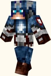 Скин Капитан Америка для майнкрафт