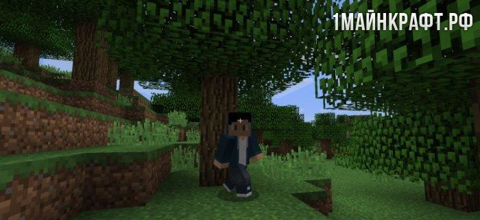 мод на майнкрафт 1 7 10 animated player