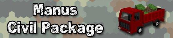 Manus Civil Package для майнкрафт 1.6.4 - мод на машины