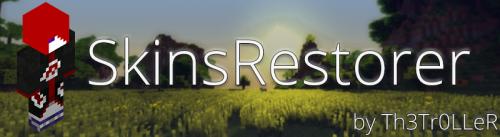 Плагин SkinsRestorer для майнкрафт 1.7.10