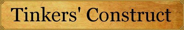 Мод Tinkers' Construct для майнкрафт 1.9.4