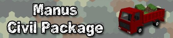 ��� Manus Civil Package ��� ��������� 1.7.2