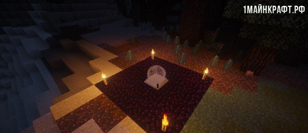 Майнкрафт на мод 1.7.10 на заражение вампиризмом