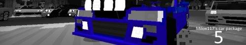 Мод Milox-117's Cars для майнкрафт 1.7.10 - спорт кары (flan's)
