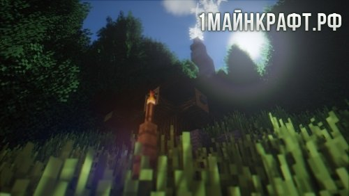 Шейдеры TME Shaders для майнкрафт 1.8