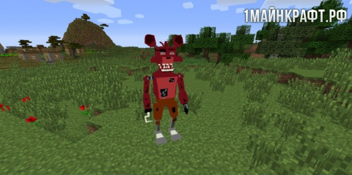 ��� Five Nights at Freddy�s Realistic Models ��� ��������� 1.7.10