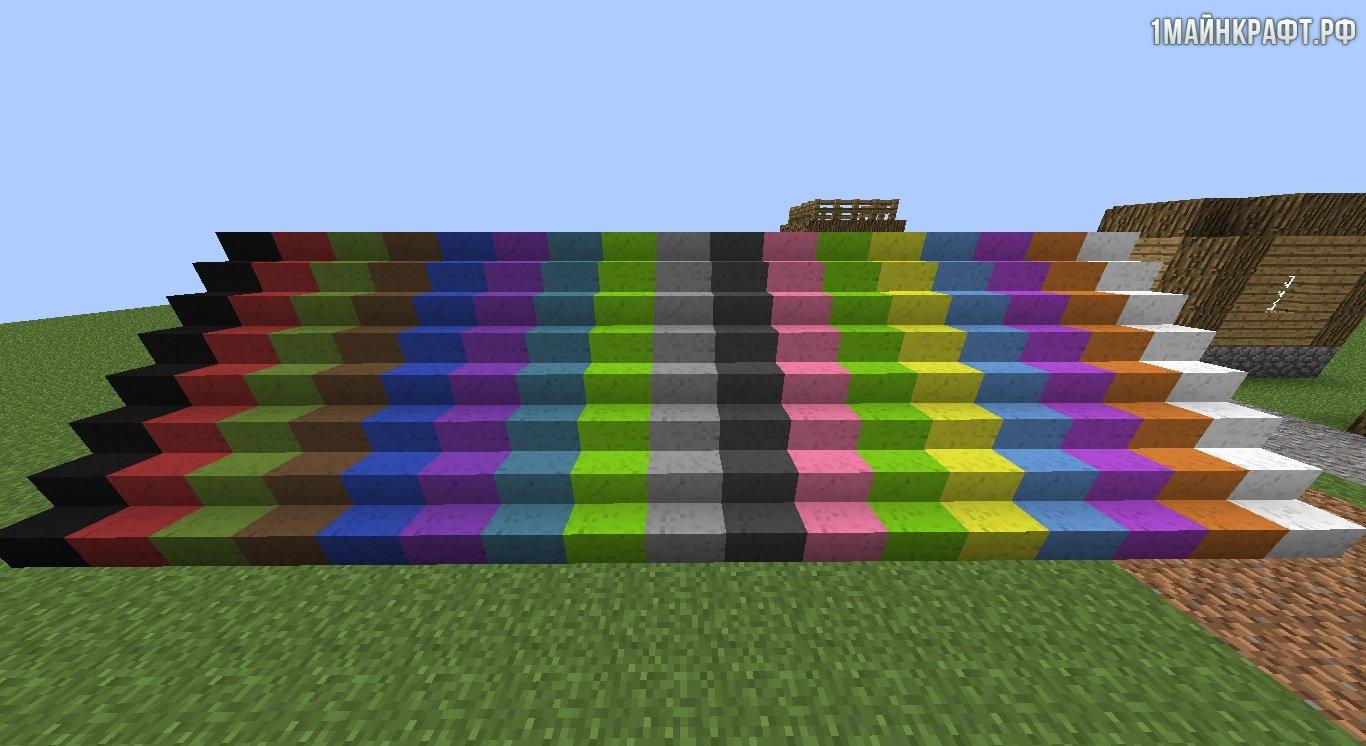 моды на майнкрафт 1.7.10 для покраски блокав #2