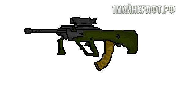 Counter Guns для Майнкрафт 1.10.2 - мод на оружие