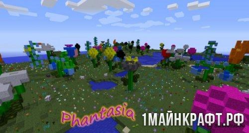 Мод Flowercraft для Майнкрафт 1.10.2