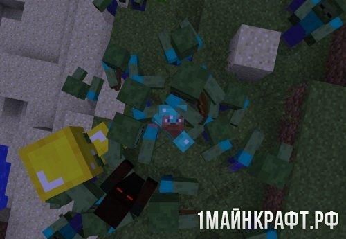 Мод Special Mobs для Майнкрафт 1.7.10