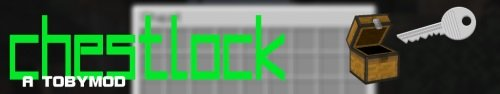 Мод ChestLock для Майнкрафт 1.10.2