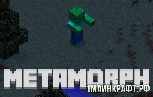 Metamorph 1.10.2 - Мод на превращение в мобов при убийстве для майнкрафт 1.10.2