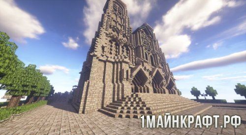 ����� A Gothic Cathedral ��� Minecraft