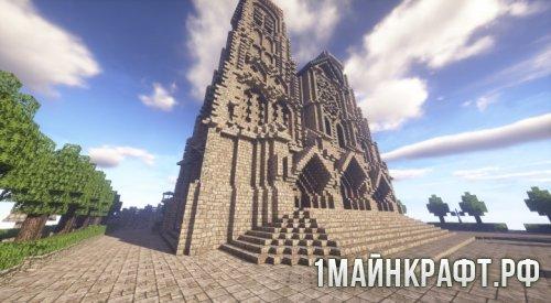 Карта A Gothic Cathedral для Minecraft