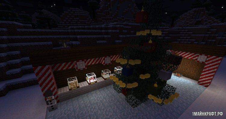 рождественский mod minecraft 1.7.10 #5