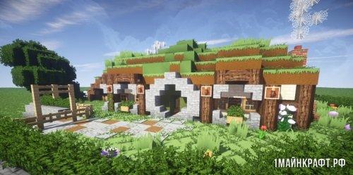 Карта Hobbit Hole для Minecraft [1.9 - 1.10.2]