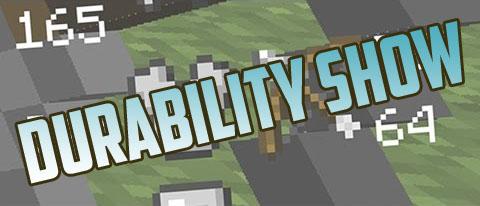 Мод Durability Show для Майнкрафт 1.11