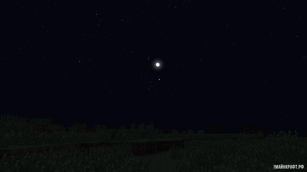 мод на звездное небо для майнкрафт 1.7.10
