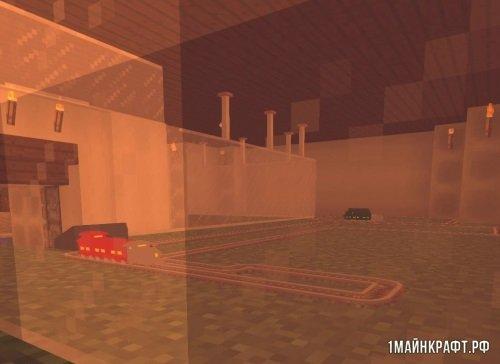 Мод Model Trains для Майнкрафт 1.11 - игрушечные поезда