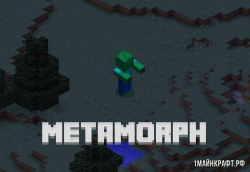 Metamorph 1.11.2 - Мод на превращение в мобов при убийстве для майнкрафт 1.11.2