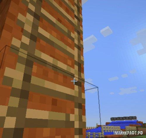 Мод Faster Ladder Climbing для Майнкрафт 1.11.2