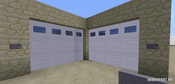 Автоматические двери в майнкрафт 1.6.4