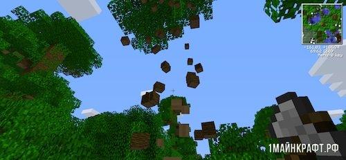 Мод Lumberjack для Майнкрафт 1.11.2