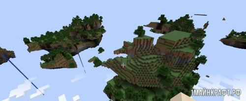 Мод Skylands для Майнкрафт 1.10.2