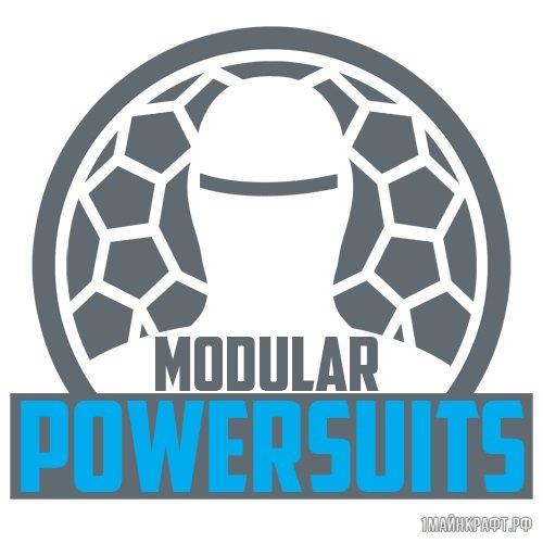Мод Modular Powersuits для Майнкрафт 1.10.2