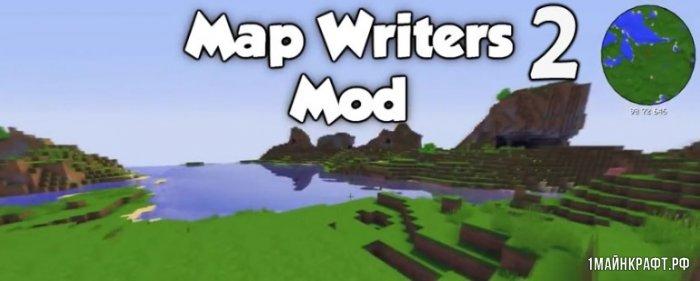 Мод Mapwriter 2 для Minecraft 1.12.2